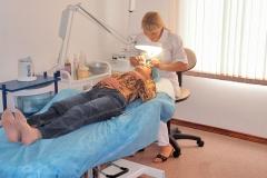 Лечение в кабинете косметолога