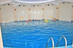 Закрытый бассейн, «Горный Воздух», Сочи