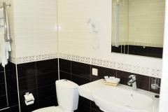 Ванная комната (Люкс с джакузи)